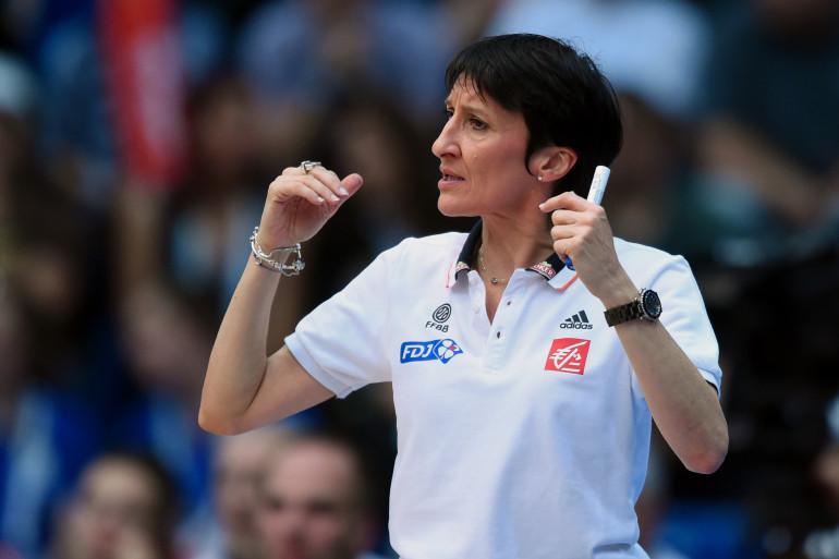 Valérie Garnier, entraîneure de Bourges et de l'équipe de France de basket