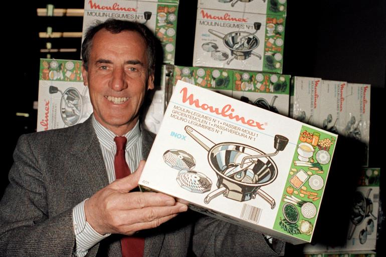 L'ancien PDG de Moulinex Roland Darneau en 1988 (archives)