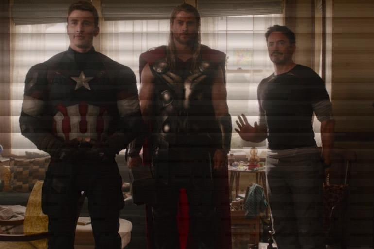 Les Avengers reviennent en DVD