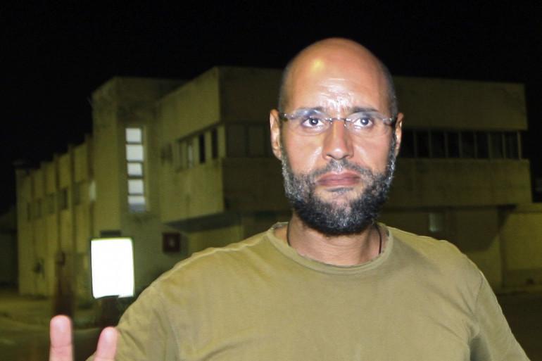 Seif al-Islam Kadhafi  le 23 août 2011 (archives).