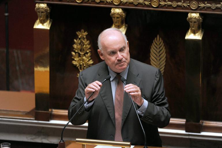 Le président de l'Assemblée des départements de France (ADF) Dominique Bussereau, le 24 juin 2014 (archives)