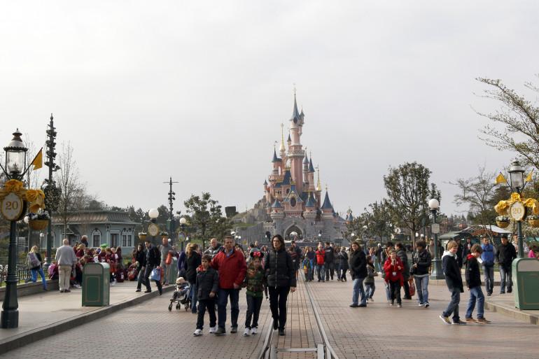 Disneyland Paris, en mars 2012. (archives)