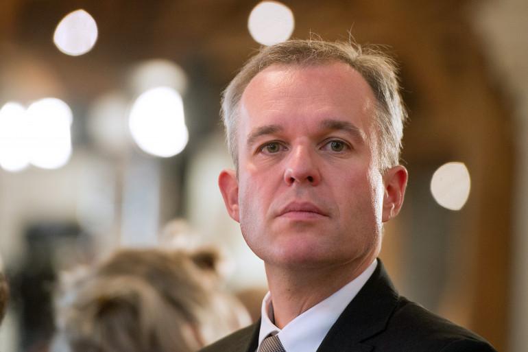 Le coprésident du groupe EELV à l'Assemblée François de Rugy, ici à Angers le 26 septembre 2013 (archive)..