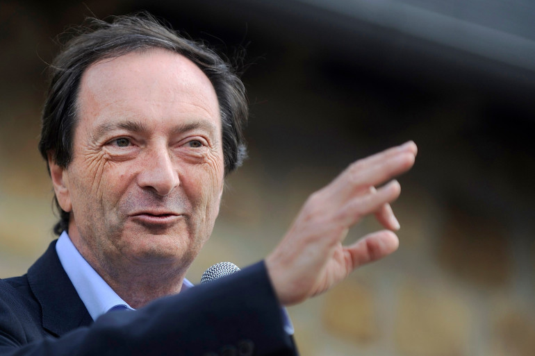 Michel-Édouard Leclerc à Landerneau en 2013.