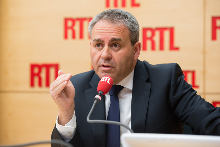 Xavier Bertrand, invité de RTL, le 24 avril 2015 (illustration)