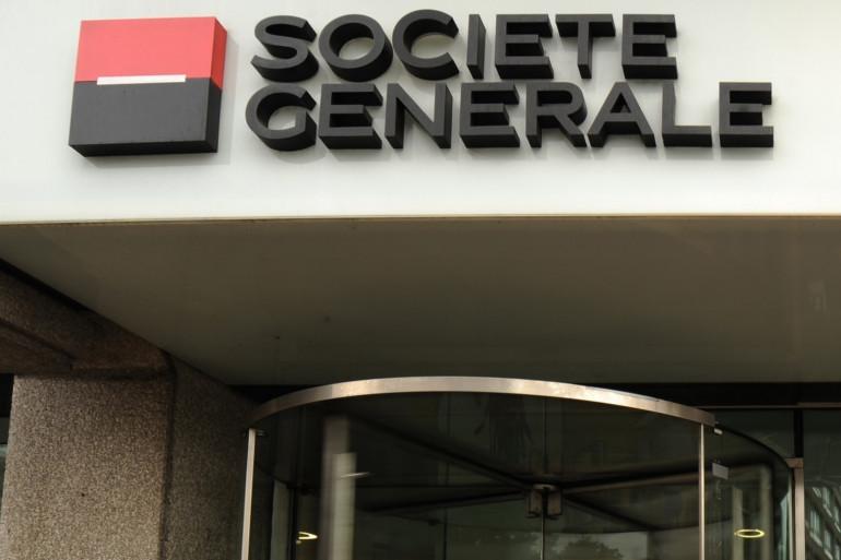 Une banque Société Générale dans le centre de Londres (illustration)