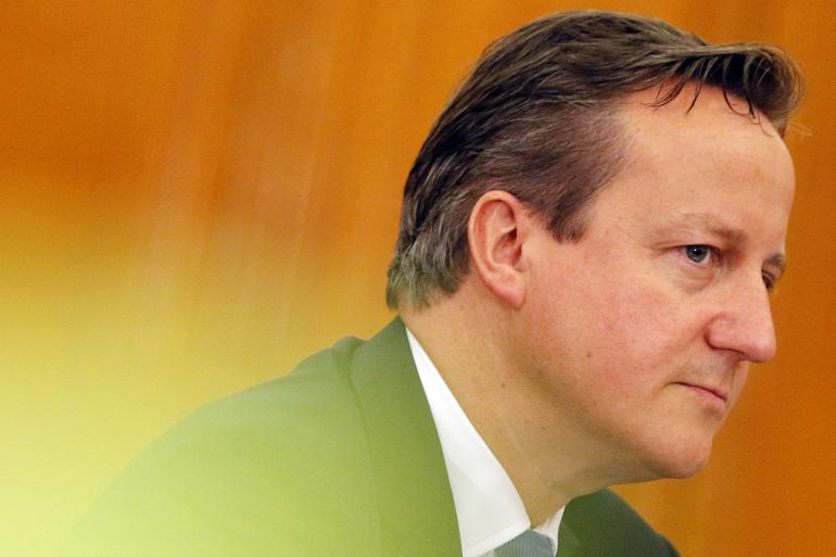 Le premier ministre britannique David Cameron, au Vietnam en juillet 2015