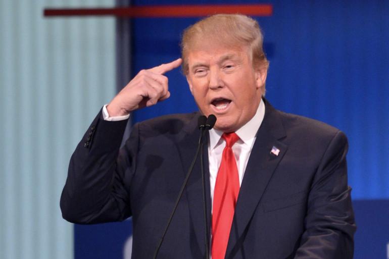 Donald Trump lors du premier débat républicain le 6 août 2015