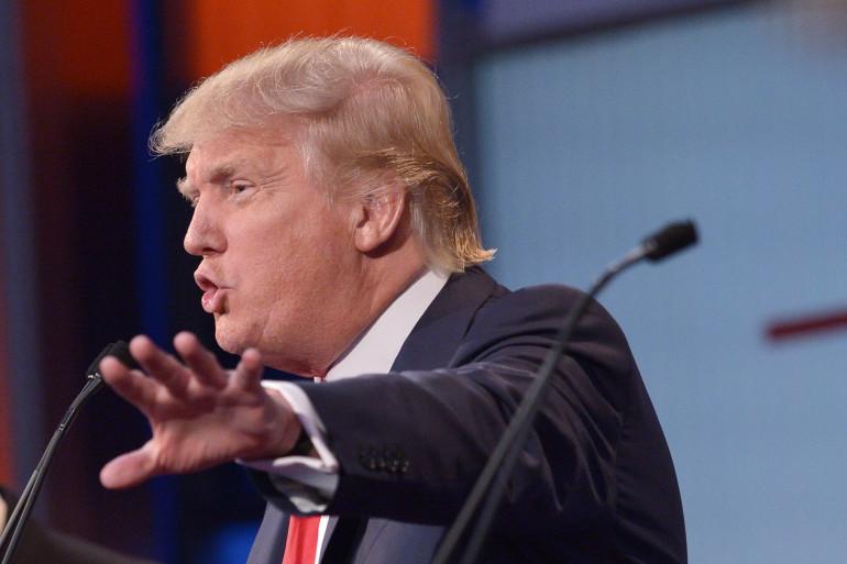 Donald Trump lors du premier débat républicain