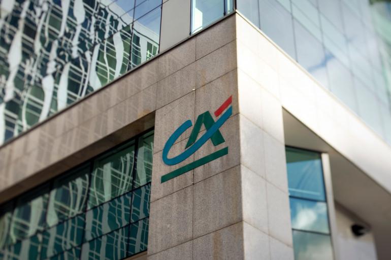 Le logo du Crédit Agricole (illustration)
