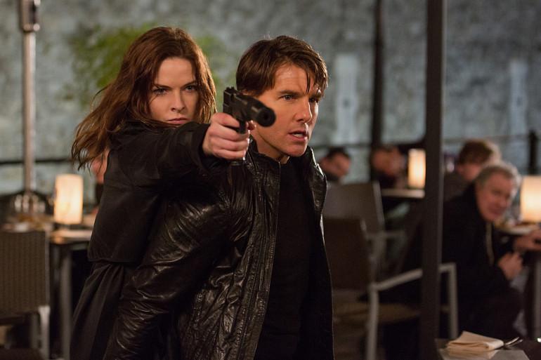 """Rebecca Ferguson joue au côté de Tom Cruise dans """"Mission Impossible 5"""""""