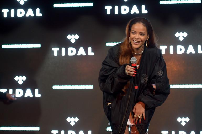 Rihanna le 1er juillet 2015 à Los Angeles.
