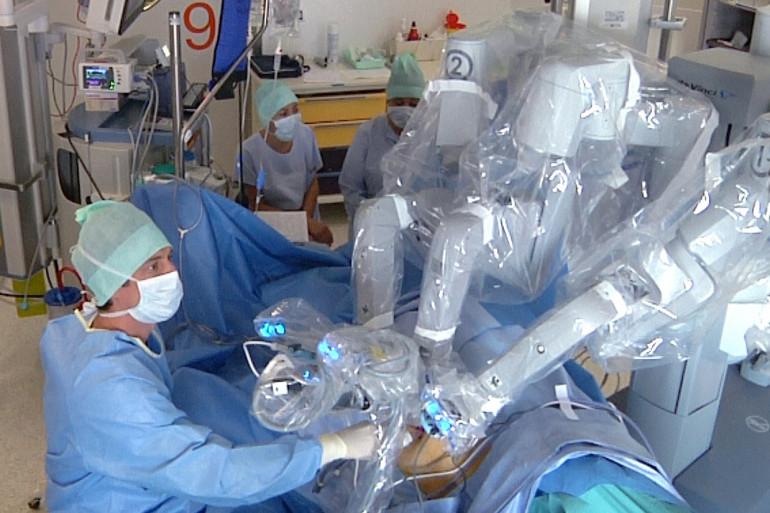 Des images de l'opération au CHU de Toulouse