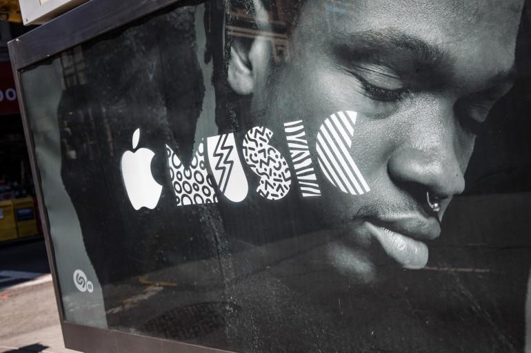 Apple a lancé une campagne de publicité aux États-Unis pour vanter son service Apple Music