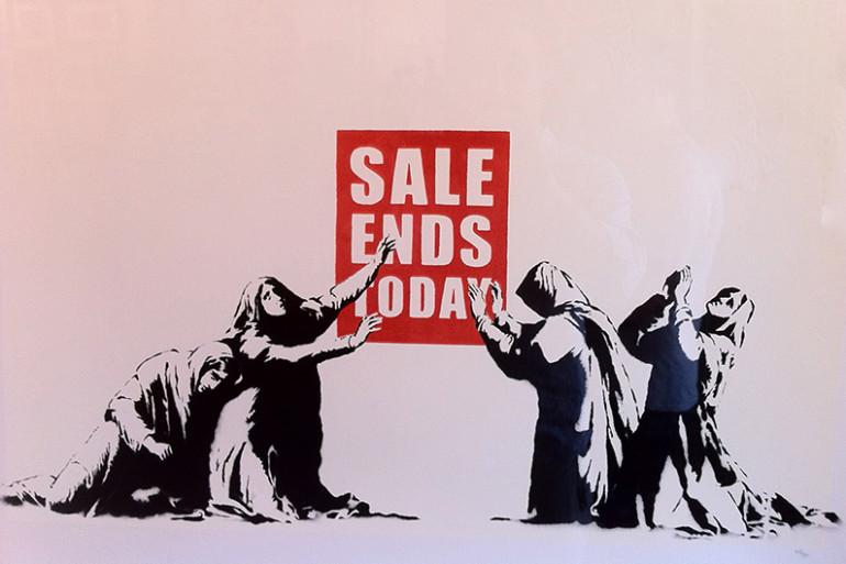 Le street-artiste Banksy en quelques oeuvres