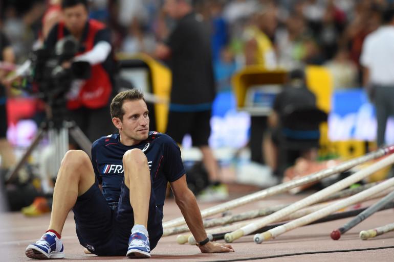 Renaud Lavillenie à Pékin en août 2015