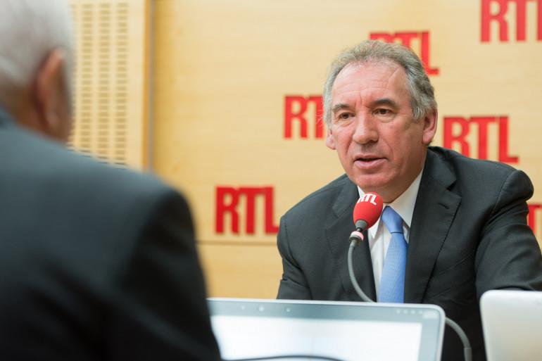 François Bayrou, invité de RTL, le 25 août 2015