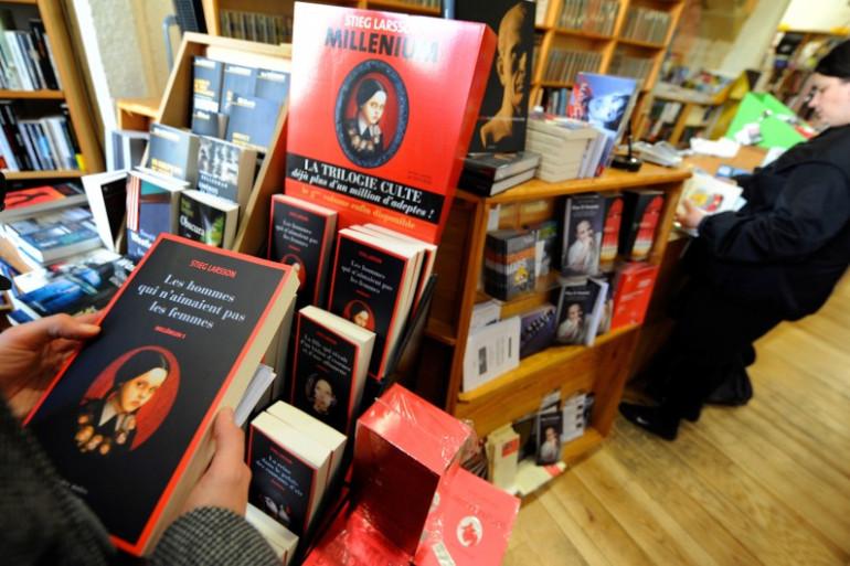 La trilogie Millénium s'est vendue à plusieurs millions d'exemplaires en France (illustration)