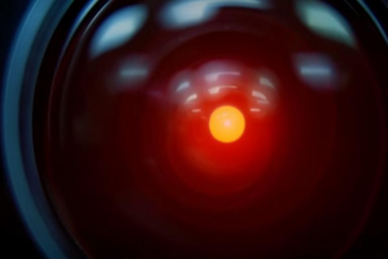 """HAL 9000, l'ordinateur inquiétant de """"2001, l'odyssée de l'espace"""""""