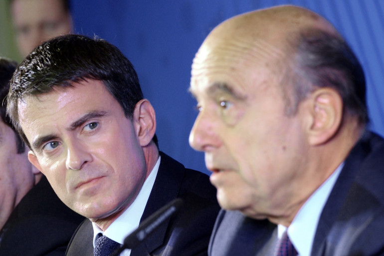 Manuel Valls et Alain Juppé à Bordeaux le 23 octobre 2014 (image d'archives)