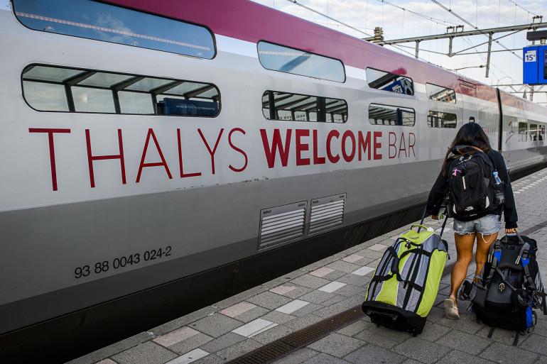 La directrice générale du Thalys soutient son personnel
