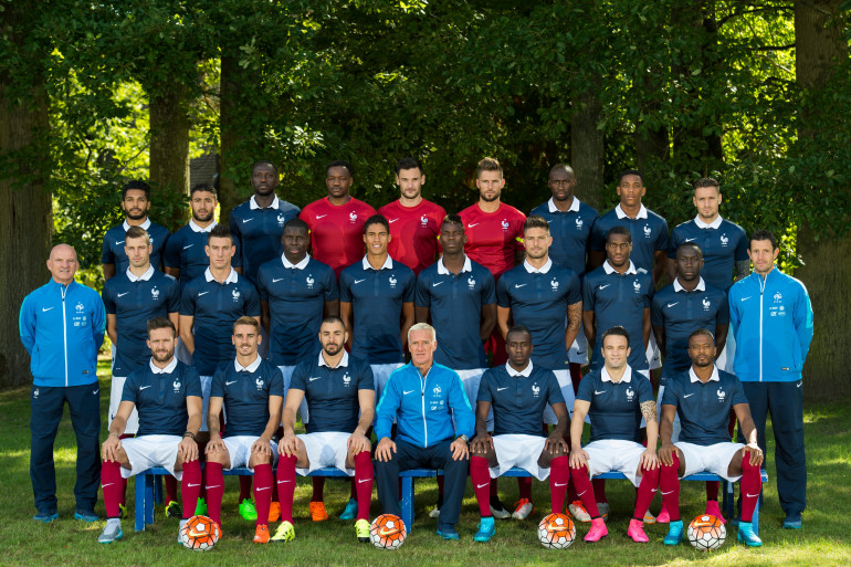 L'équipe de France de football mercredi 2 septembre 2015
