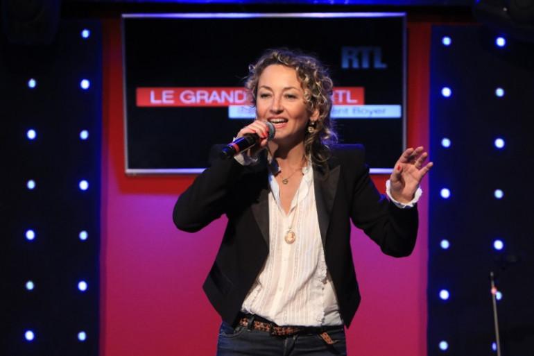 Christelle Chollet dans le Grand Studio RTL Humour
