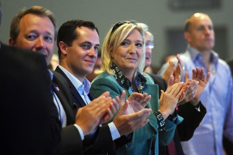 Marine Le Pen à l'université d'été du FN à Marseille, le 5 septembre 2015