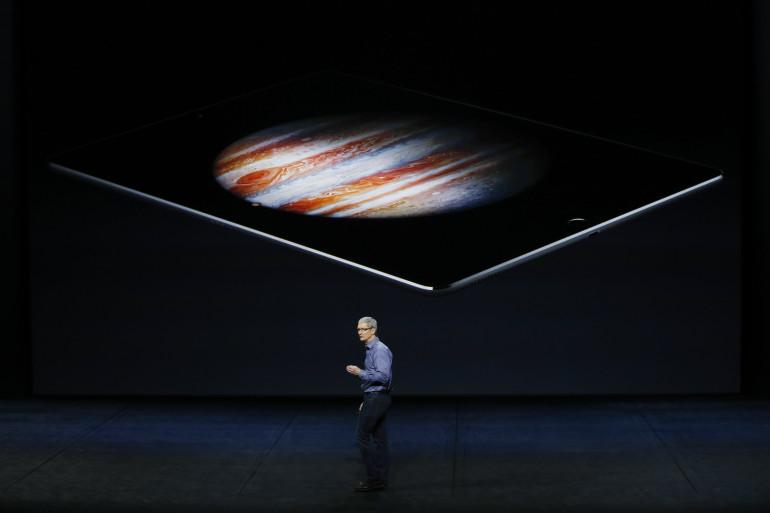 Apple a dévoilé deux nouveaux iPhone et l'iPad pro mercredi 9 septembre 2016 à San Francisco