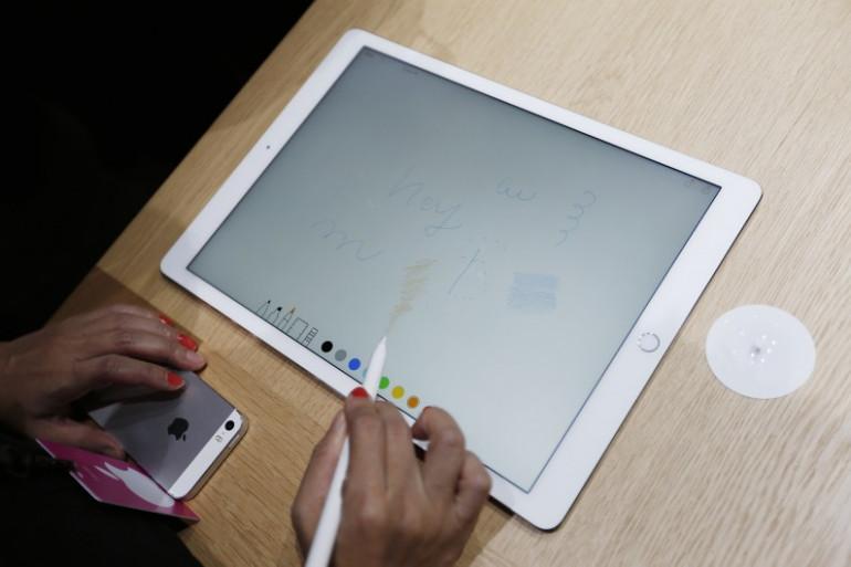 L'iPad Pro a été dévoilé par Apple lors de sa traditionnelle keynote à San Francisco, le 9 septembre 2015
