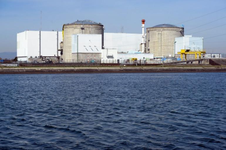 La centrale nucléaire de Fessenheim, en Alsace (illustration)