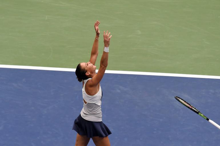 Flavia Pennetta remporte l'US Open 2015