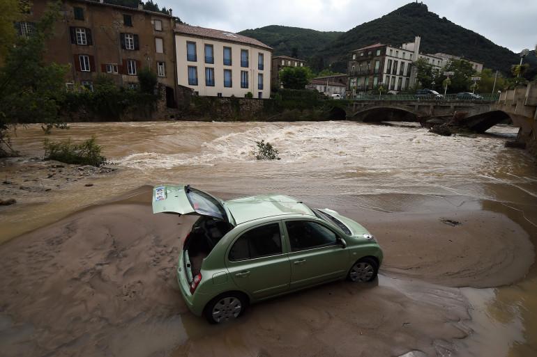 Les intempéries dans l'Hérault ont principalement touché la ville de Lodève