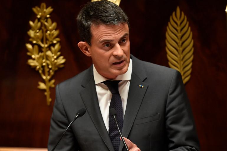 Manuel Valls à l'Assemblée nationale le 15 septembre 2015.