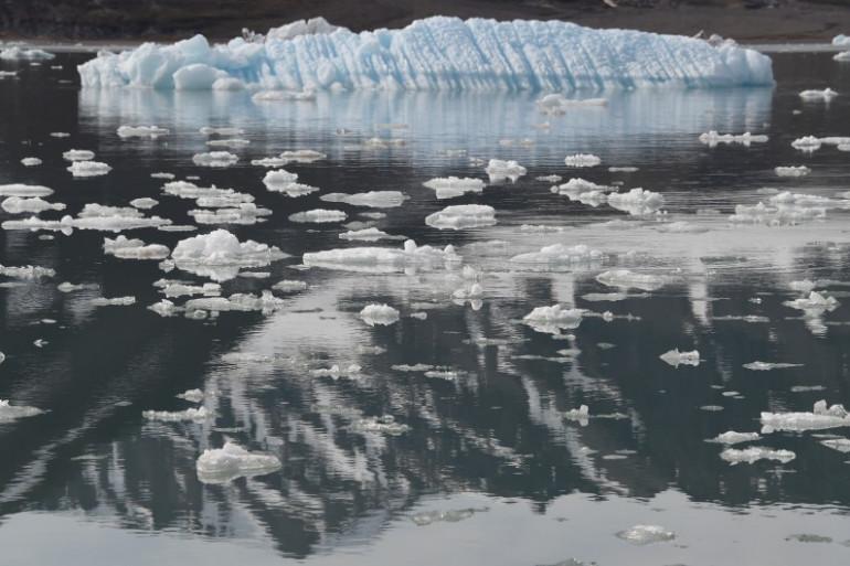 La fonte des glaces s'illustre de manière dramatique en Océan Arctique