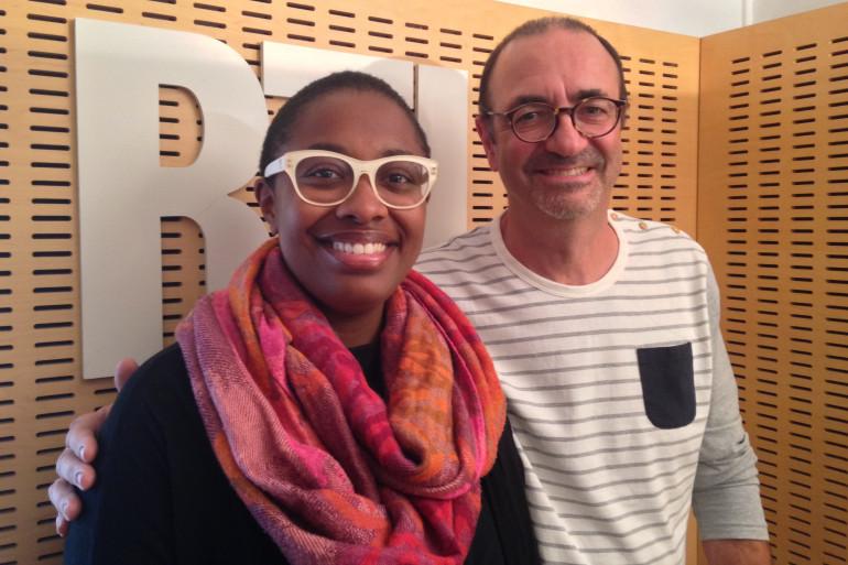 Cécile McLorin Salvant et Jean-Yves Chaperon
