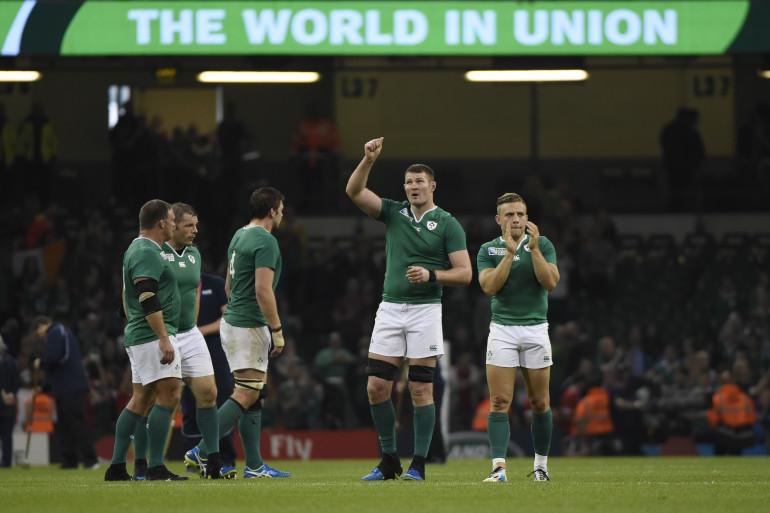 L'Irlande lors de la Coupe du Monde 2015 le 19 septembre