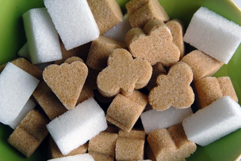 Des morceaux de sucre (illustration)