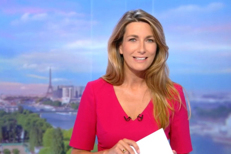 Anne-Claire Coudray, la nouvelle présentatrice des éditions du weekend sur TF1