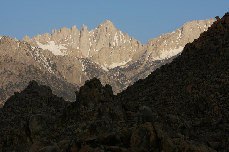 L'inquiétant recul des neiges de la Sierra Nevada