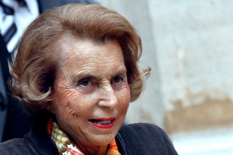 Liliane Bettencourt le 12 octobre 2011 à Paris (illustration).
