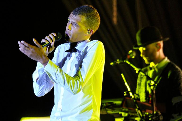 Stromae en concert à Abidjan le 23 mai 2015