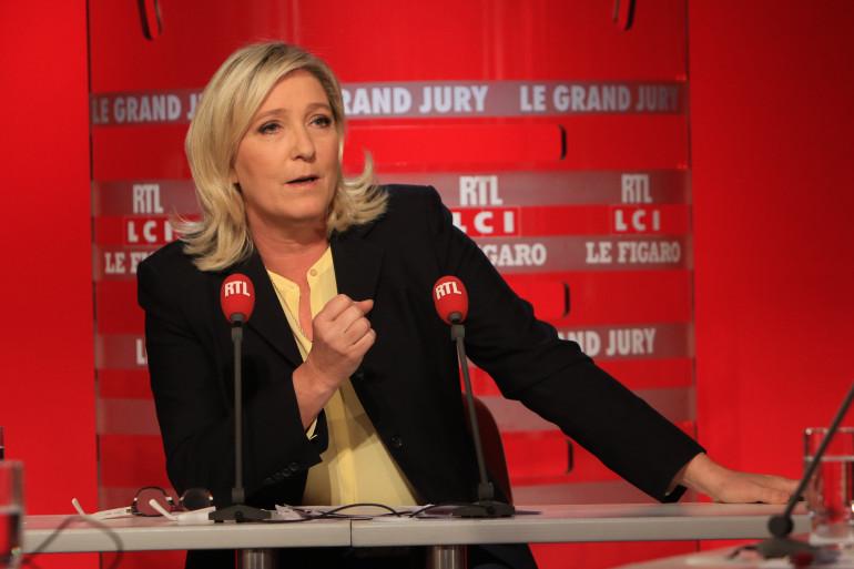"""Marine Le Pen était l'invitée du """"Grand Jury"""" dimanche 27 septembre"""