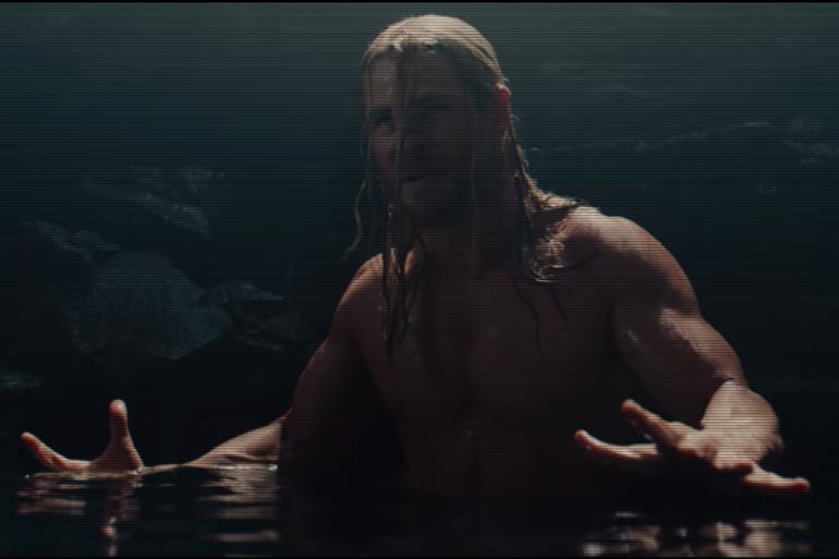 """Thor dans une scène coupée d'""""Avengers 2 : l'Ère d'Ultron"""""""