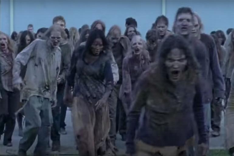 """Les zombies devraient être nombreux dans la saison 6 de """"The Walking Dead"""""""