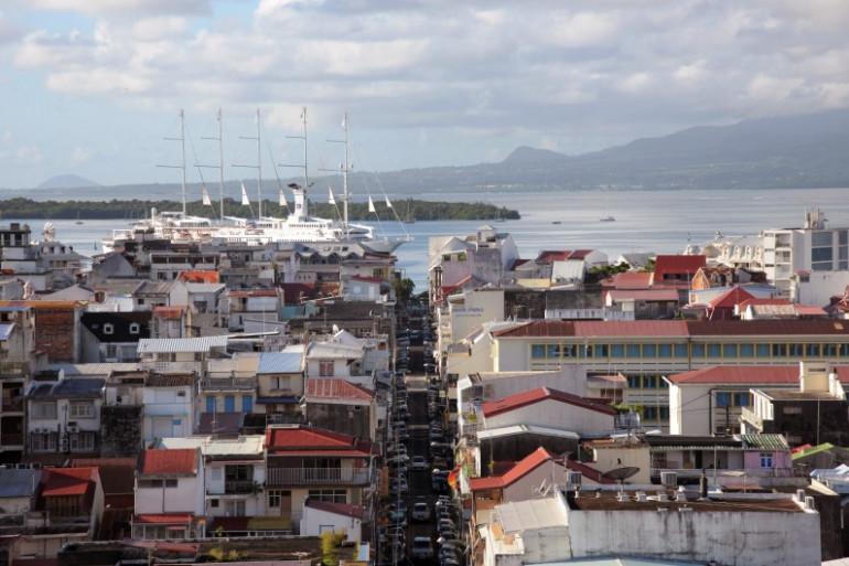 Le port de Pointe-à-Pitre, en Guadeloupe (illustration)