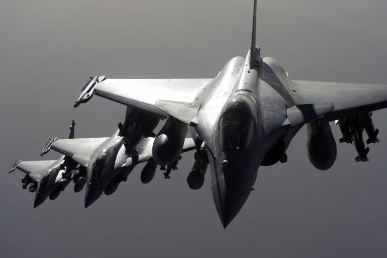 Des Rafale français en route vers la Syrie.