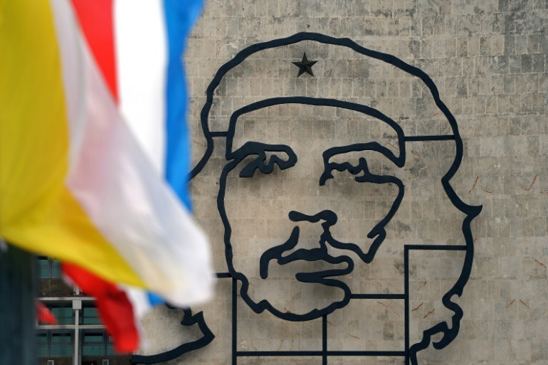 """Un portrait du """"Che"""" à La Havane"""