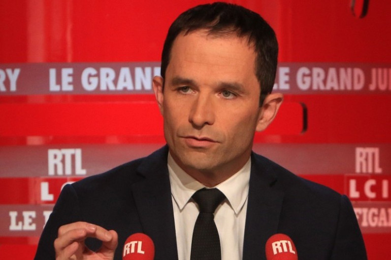 Benoît Hamon était l'invité du Grand Jury sur RTL, dimanche 11 octobre