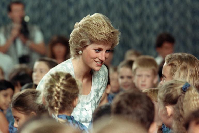 Lady Diana en 1989
